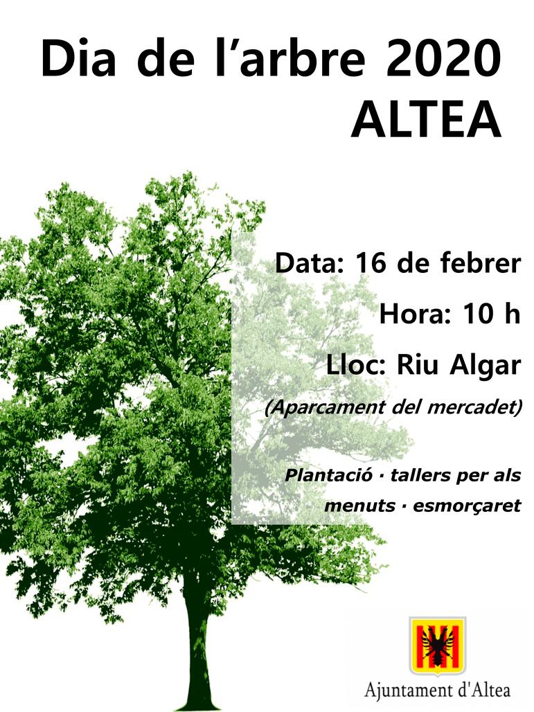 Altea celebrará el Día del Árbol con una plantación