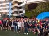 Decathlon tria Altea per provar i presentar els seus productes. Pere Barber, Xelo Gonzàlez i Jose Orozco, regidors d'Esports, Turisme i Medi Ambient, respectivament, han visitat a la delegació a l'hotel Cap Negret, on han compartit la seua experiència