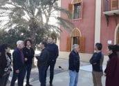 Alcalde, regidors de l'equip de govern i tècnics visiten la Casa Vila Gadea després de les obres de rehabilitació de la mateixa