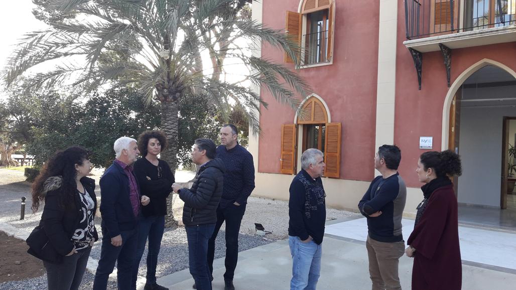 Alcalde, ediles del Equipo de Gobierno y técnicos visitan la Casa Villa Gadea tras las obras de rehabilitación de la misma