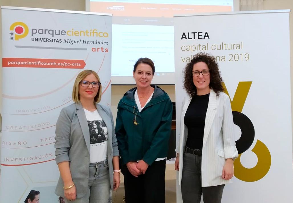 Ajuntament i Parque Científico UMH col•laboren en la II edició de Altea Emprende, el programa de suport a projectes per a pimes de la Marina Baixa