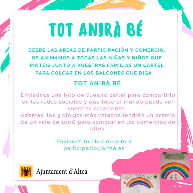 Participación Ciudadana y Comercio organizan un concurso de dibujo destinado a los menores alteanos