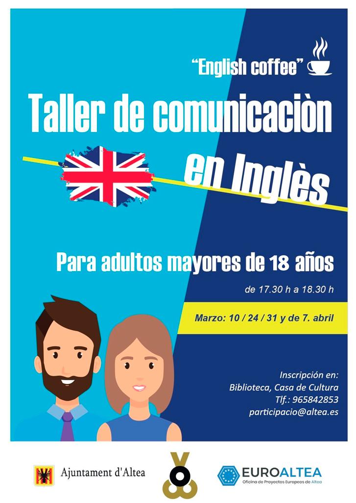 Proyectos Europeos y Participación Ciudadana ofrecen un taller gratuito de conversación en inglés para adultos