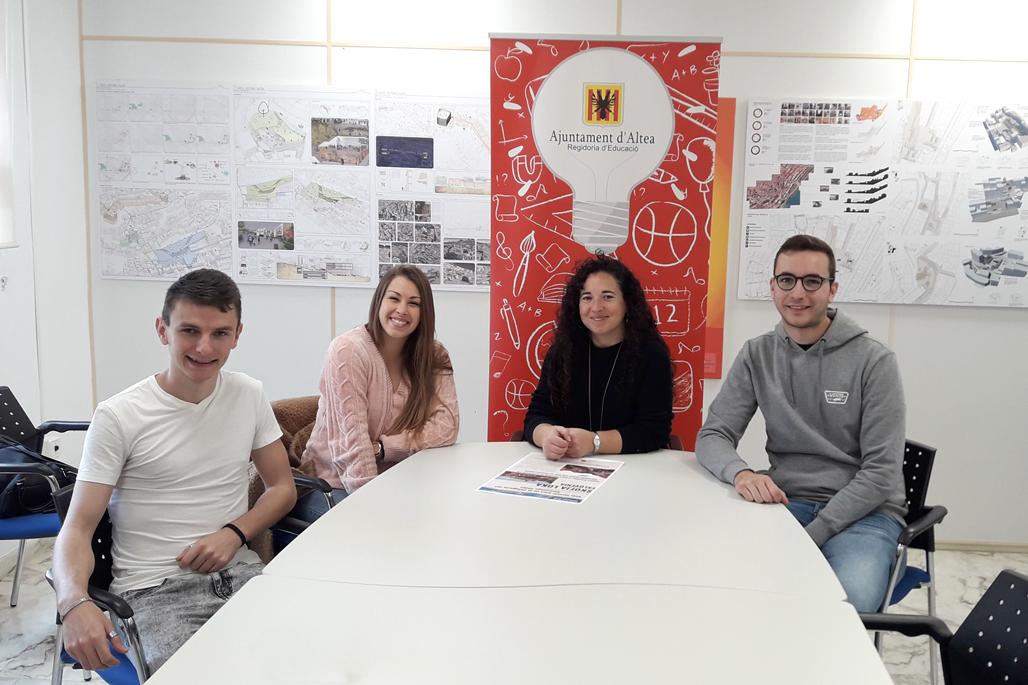 Victor Ripoll, Patricia Orozco y Zino Vreysen formarán parte de la delegación alteana en el próximo encuentro del Douzelage