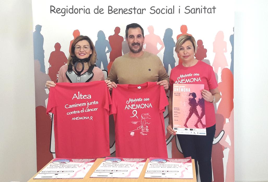 Diumenge 15 tindrà lloc la marxa solidària contra el càncer de mama organitzada per Anémona