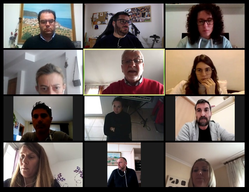 L'equip de govern segueix amb l'activitat municipal a través de reunions per videoconferència