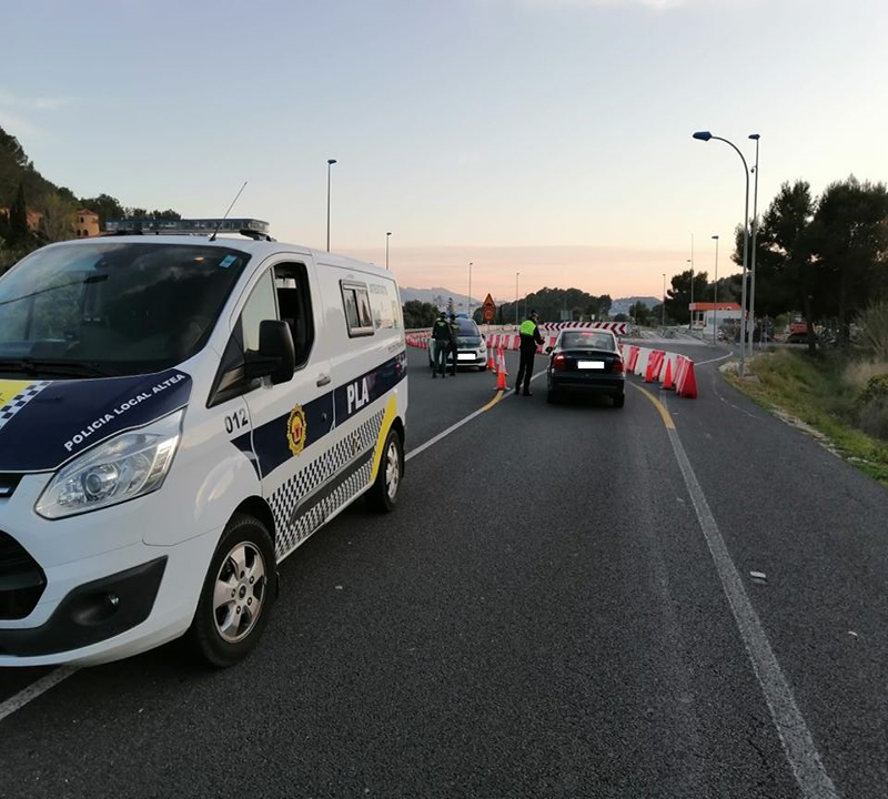 El Ayuntamiento de Altea celebra la reunión de seguridad posterior a la Semana Santa