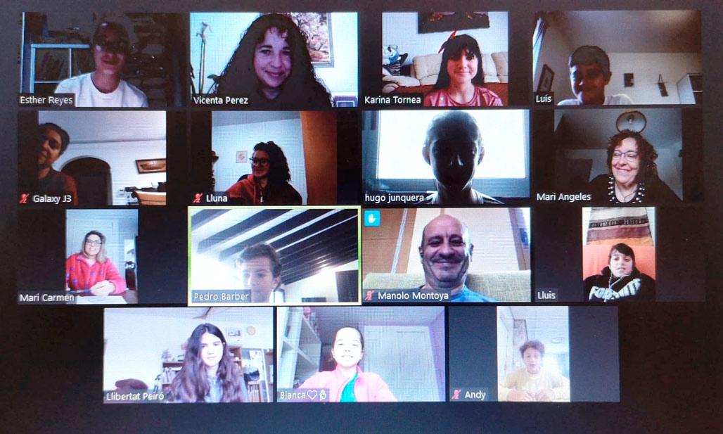 La regidora d'Educació reuneix al Consell de xiquets i xiquetes per videoconferència