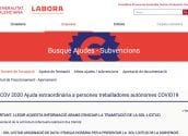 Participació Ciutadana trasllada als autònoms les ajudes que la Generalitat ha convocat per al sector