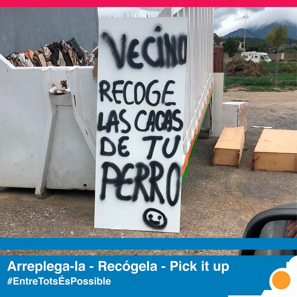 La Pública lanza una campaña para concienciar sobre la importancia de mantener limpio el municipio
