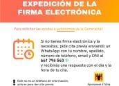 La Oficina de Atención al Ciudadano facilitará la expedición de la firma electrónica para solicitar las ayudas a autónomos