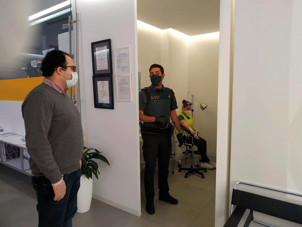 El concejal de Seguridad Ciudadana anuncia que se han realizado los test del COVID-19 a la Guardia Civil de Altea