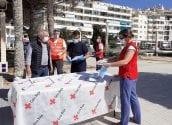 Creu Roja Altea quadruplica el nombre de famílies ateses durant l'emergència sanitària