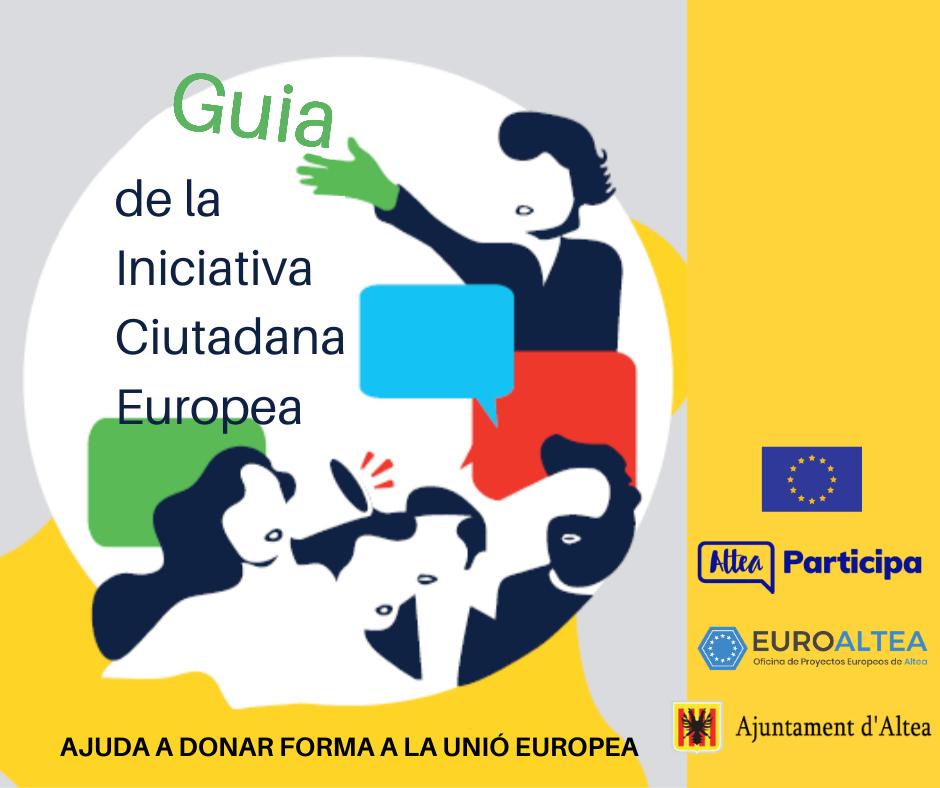 L'Ajuntament posa a disposició de la ciutadania la ''Guia de la iniciativa ciutadana europea'' per fer peticions a la Comissió Europea