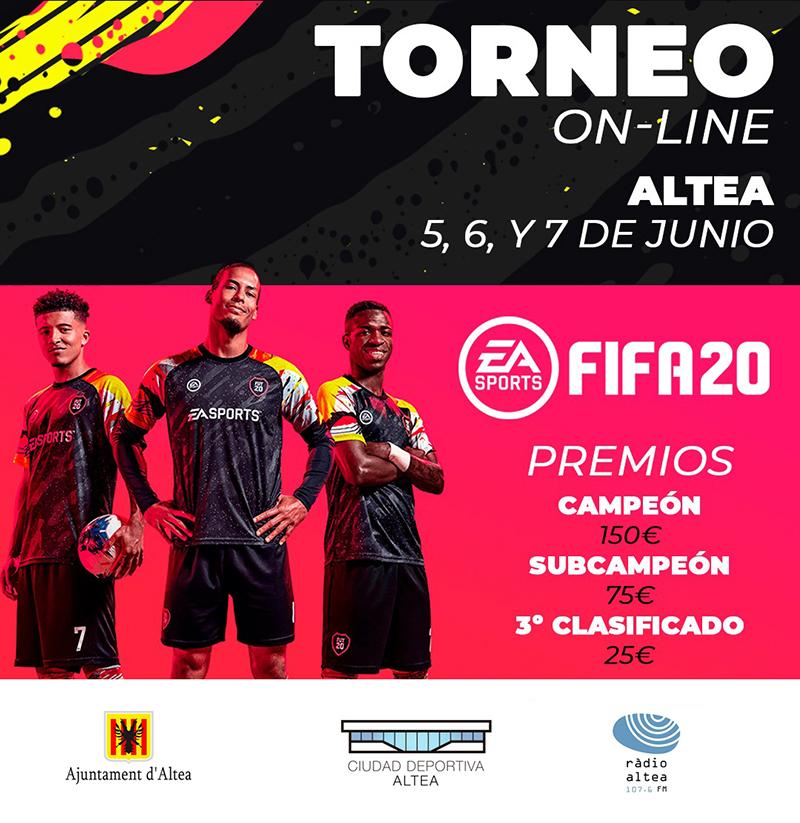 Deportes y Nuevas Tecnologías organiza un torneo online de Fifa20