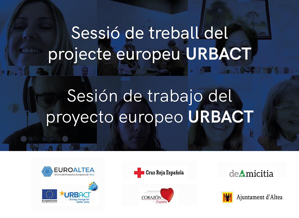 Nova sessió de treball del projecte europeu URBACT