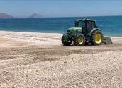 La Pública treballa perquè les platges d'Altea reprenguen en breu la seua imatge