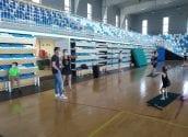 L'equip de competició de Gimnàstica Rítmica reprèn els entrenaments en grup
