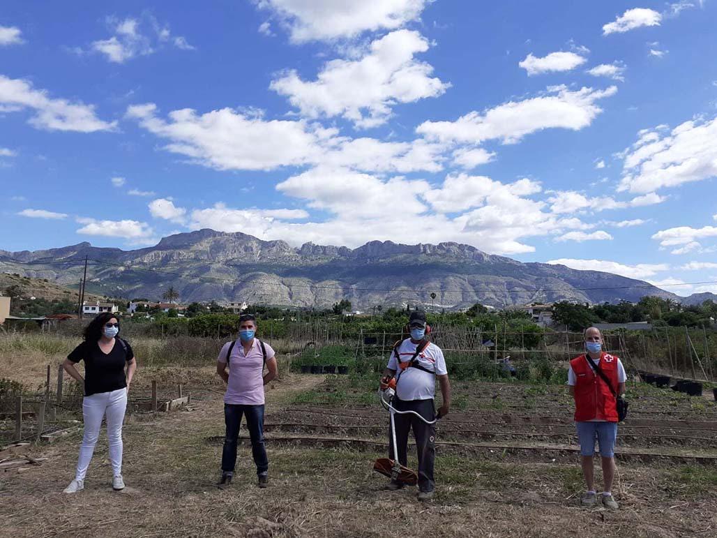 Ayuntamiento y Cruz Roja ponen en marcha un Huerto Ecosocial