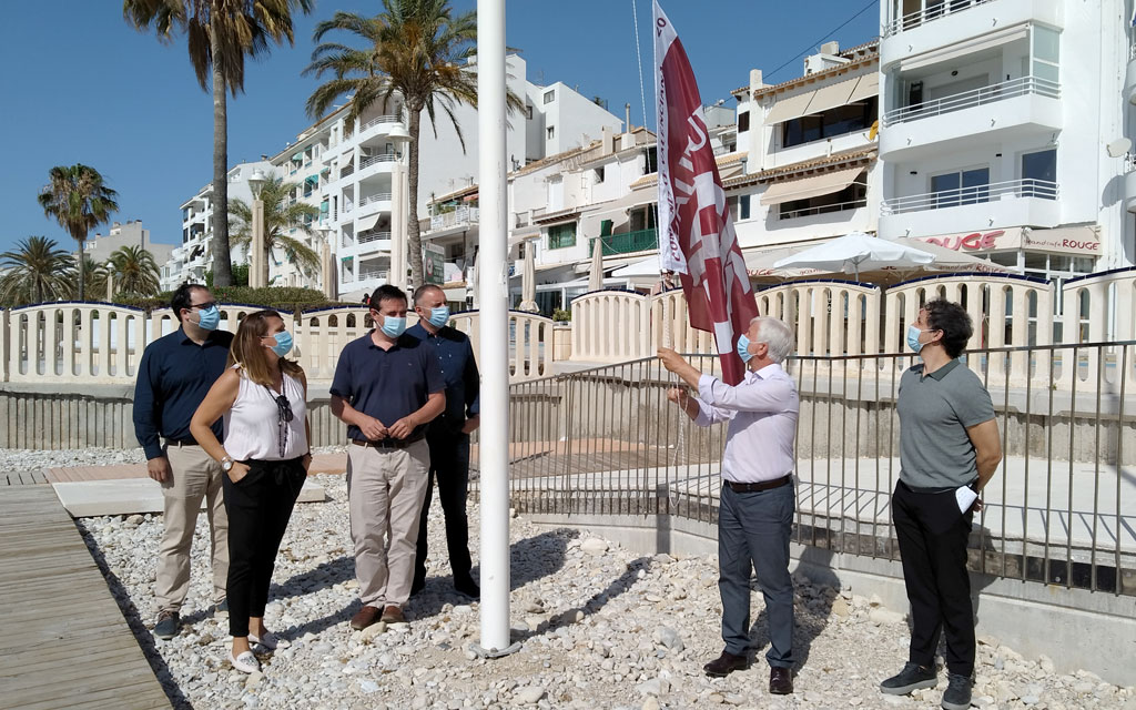 La bandera Qualitur ondeará en ocho playas de Altea
