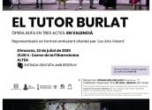 """Altea acollirà l'òpera bufa en valencià """"El Tutor Burlat"""""""