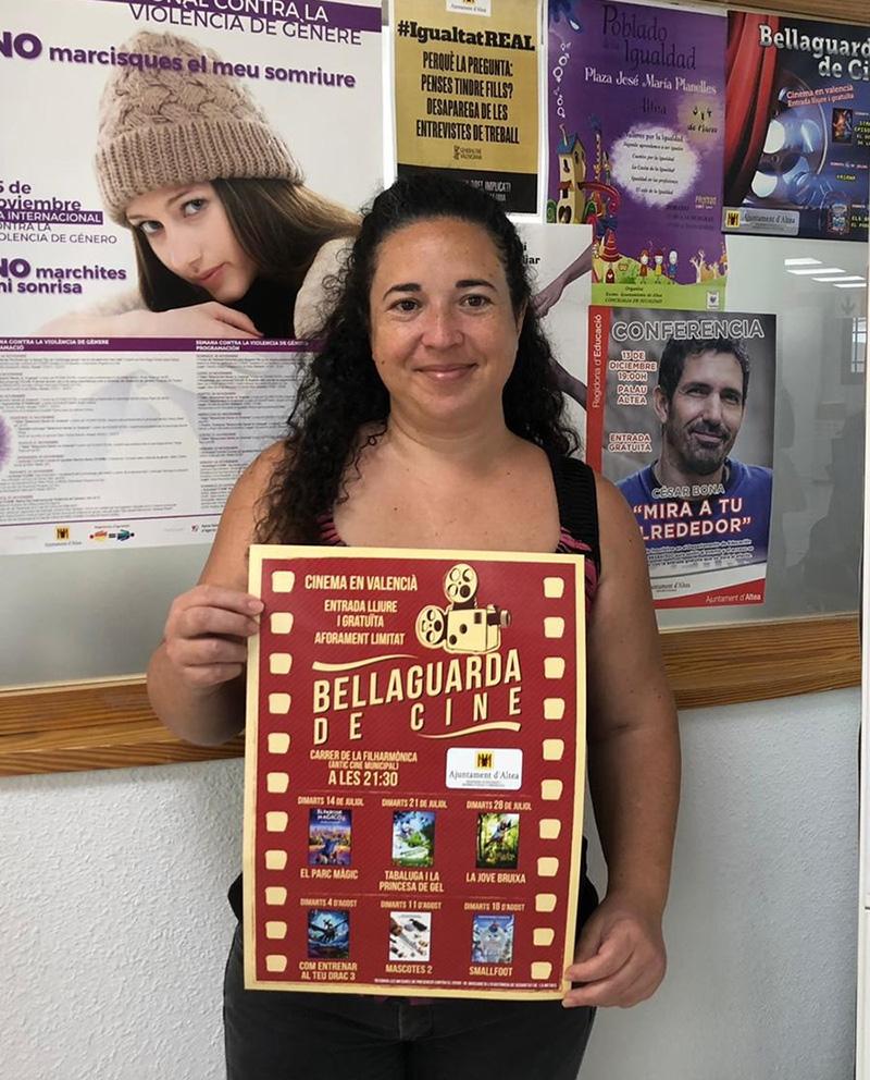 """Normalització Lingüística i Educació posen en marxa una nova edició de cinema en valencià """"Bellaguarda de Cine"""""""