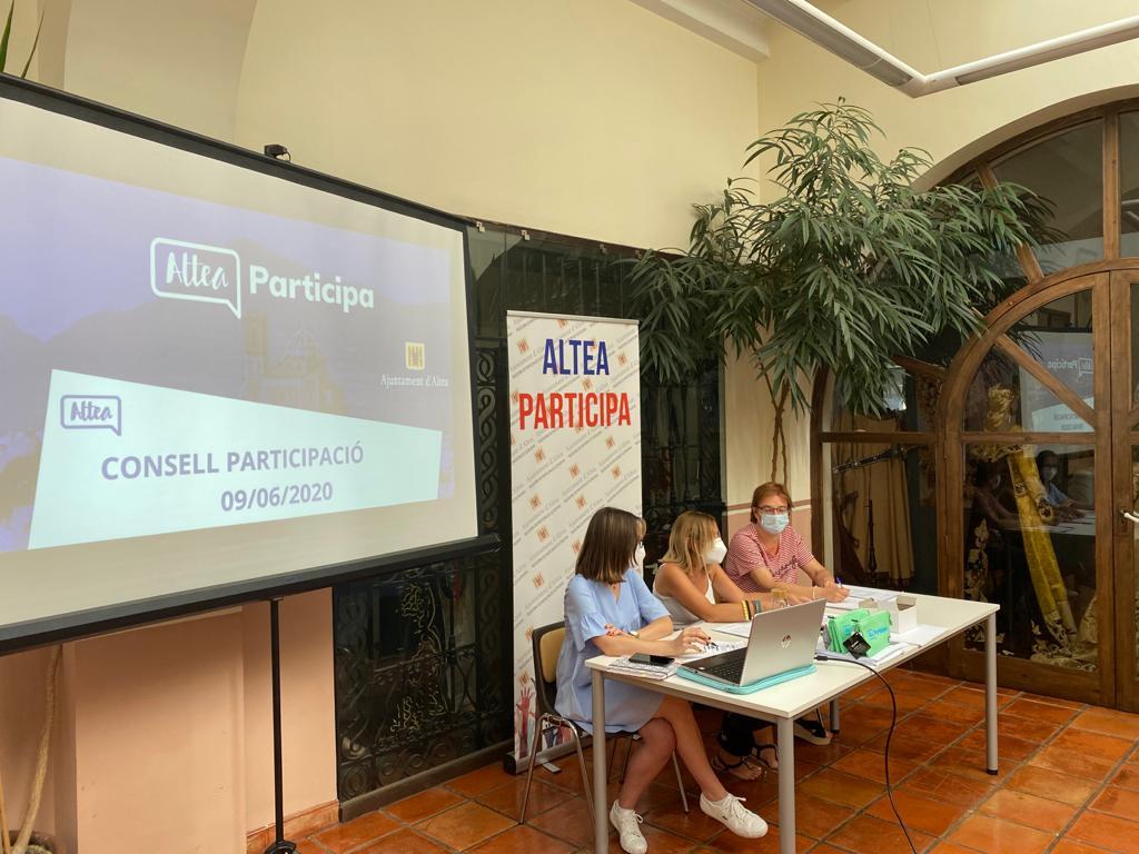 Els tres projectes guanyadors dels pressupostos participatius es presenten al Consell de Participació