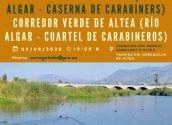 El Parc Natural de la Serra Gelada i les regidories de Turisme i Medi Ambient organitzen una ruta pel Corredor Verd d'Altea