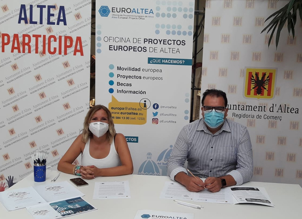 Altea es presenta als Premis Ciutats Actives en el Comerç Just i Ètic de la UE