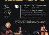 Cultura presenta el concert de jazz flamenc que oferirà Jerez Texas