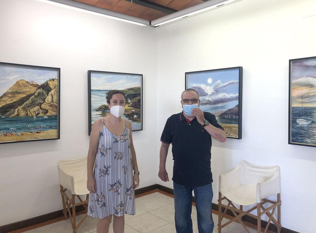 La Casa Toni el Fuster acoge la exposición 'Mare Nostrum' del artista Pepe Caras