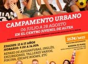 Últimos días de inscripción para el Campamento Urbano de julio y agosto