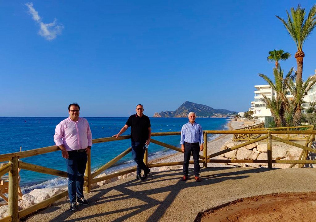 Finalitzades les obres de rehabilitació del Passeig de Cap Negret