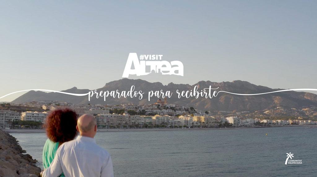 Altea presenta su nuevo spot promocional ''Preparados para recibirte''