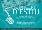 La SFA celebra este any el seu concert d'estiu a la Plaça de l'Ajuntament
