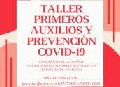 Obert el termini d'inscripció per a la nova edició del 'Taller de Primers Auxilis i Prevenció COVID-19'
