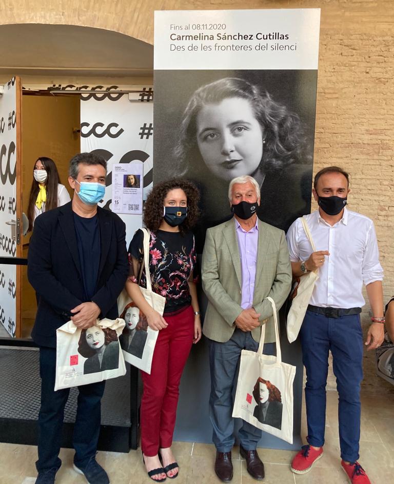 """Altea presente en la inauguración de la exposición """"Des de les fronteres del silenci: Carmelina Sánchez-Cutillas"""""""