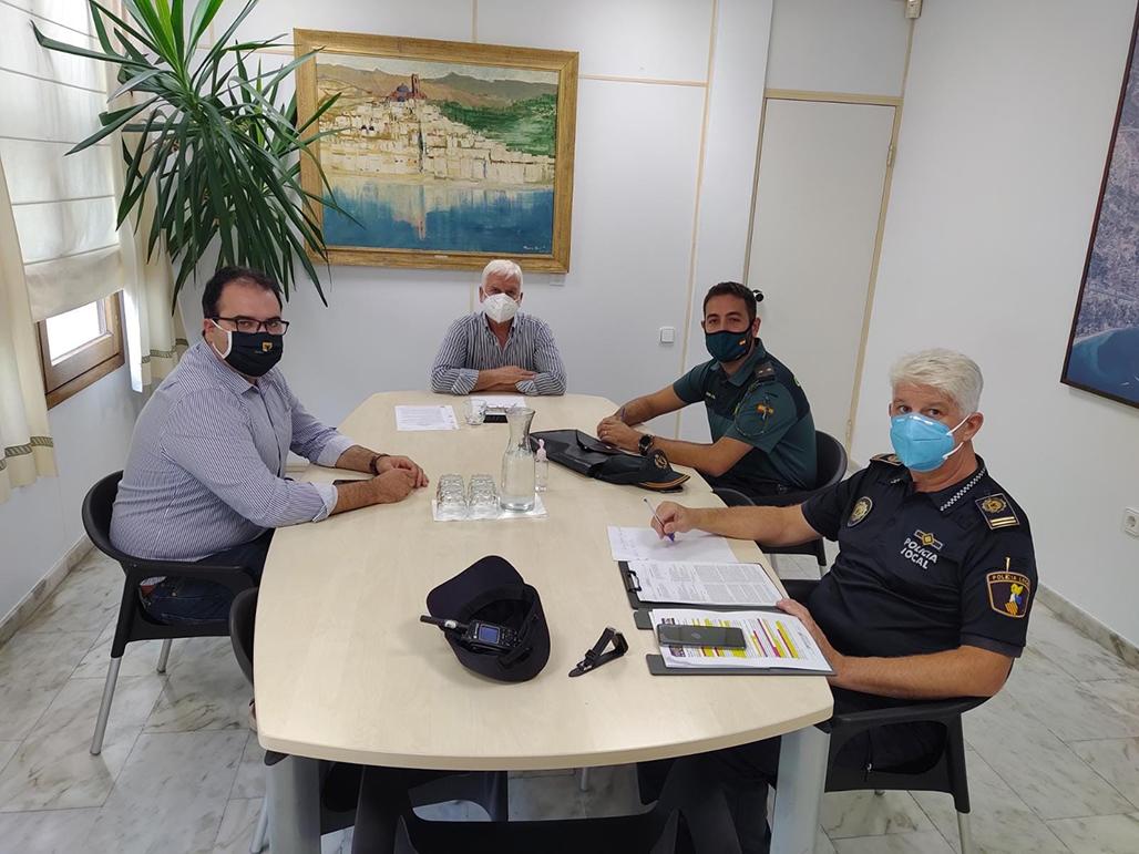 Els cossos de seguretat intensificaran els controls per garantir que es compleixin les mesures de seguretat anti COVID-19 durant els pròxims festius locals