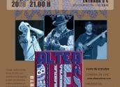 'Altea Blues Project' actuarà a l'Auditori Plaça de l'Aigua d'Altea el divendres 11 de setembre, a les 21:00 hores. L'entrada té un preu de 3€ en taquilla i 2'50€ a través de www.alteacultural.com. Recorda que hi ha aforament limitat, no et quedes sense la teua entrada!