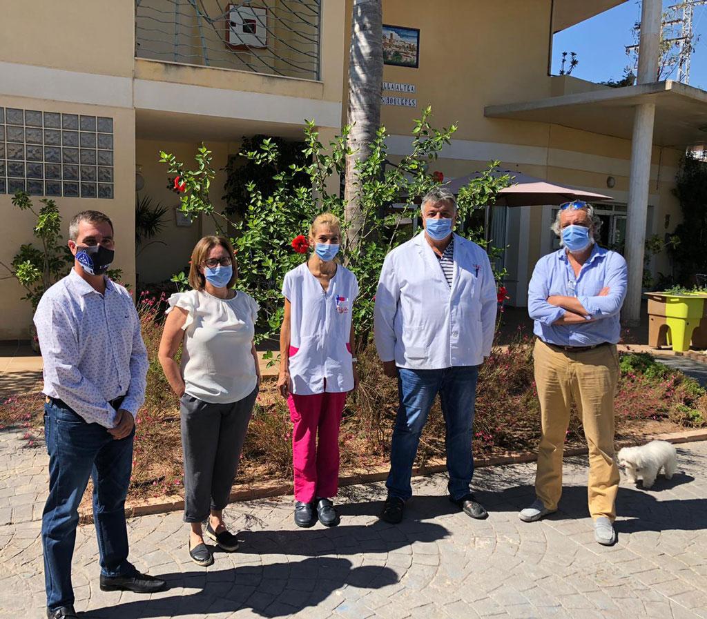 Sanitat i Benestar Social manté una reunió de treball amb el centre 'Vila d'Altea les Boqueres'