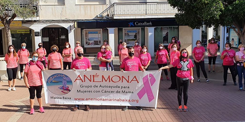El Ayuntamiento de Altea se suma a la lucha contra el cáncer de mama