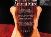 """Jueves 8 de octubre a las 20h en Palau se inaugurará una nueva exposición de Antoni Miró. En este caso se trata de una muestra de su colección """"Suite Havana""""."""