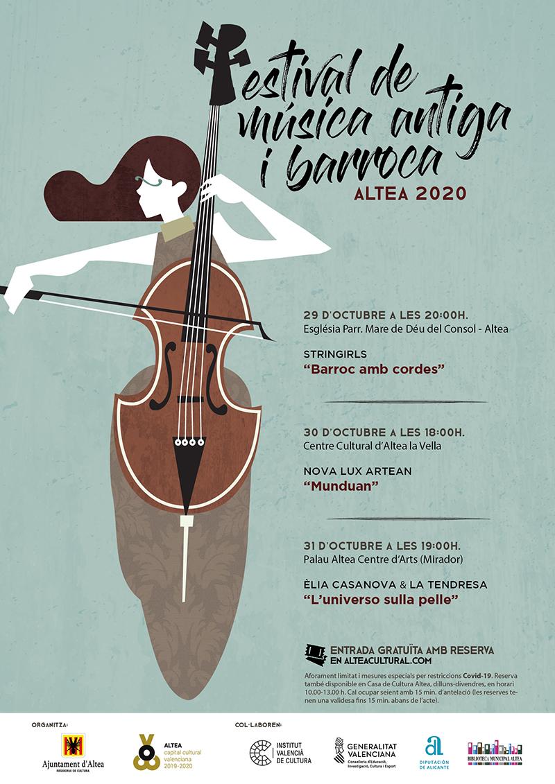 """El festival """"Música Antiga i Barroca"""" inclou un concert teatralitzat per a públic familiar"""