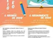 Comerç conclou la campanya Abonament Escolar amb el sorteig de 6 vals de 200€