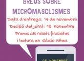Igualdad y Educación ponen en marcha la II edición del Certamen de Relatos Breves sobre Micromachismos