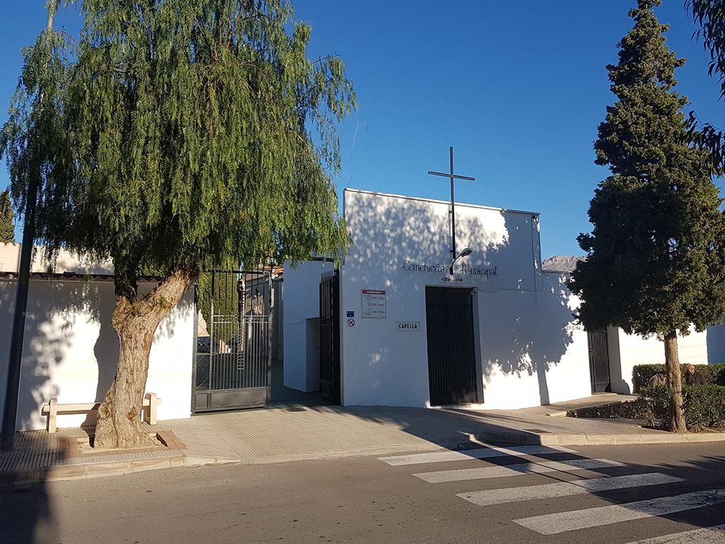 El Ayuntamiento abrirá el Cementerio Municipal con normalidad para Todos los Santos aplicando las medidas anti COVID-19