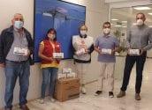 Altea rep 6.000 màscaretes que seran repartides entre les famílies més vulnerables