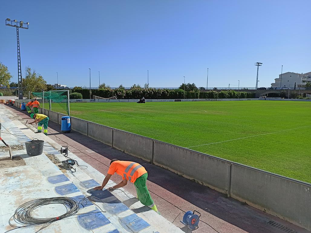 Deportes mejora las instalaciones del Campo de Fútbol