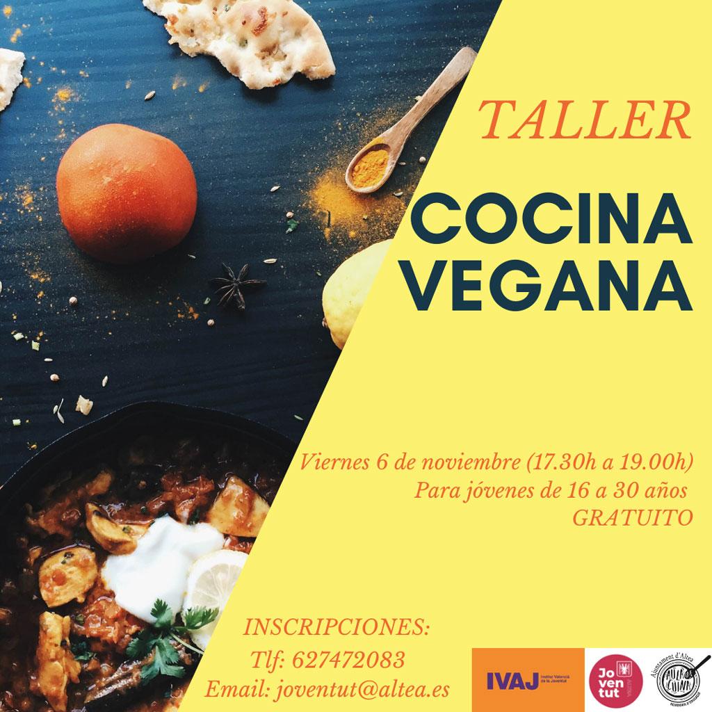 Joventut presenta un taller de cuina vegana