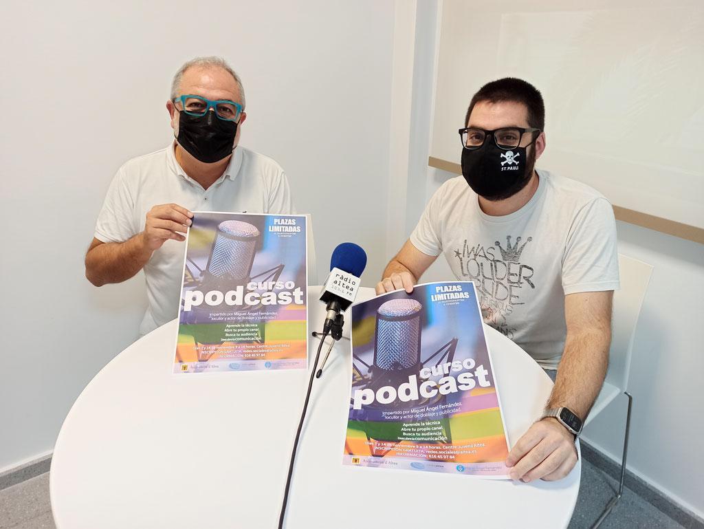 Ràdio Altea organitza un curs de podcast